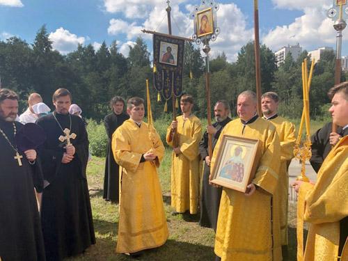 Крестный ход в день памяти св. кн. Ольги