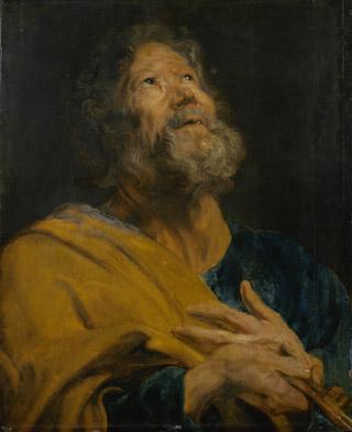 Антонис ван Дейк (1599 – 1641). Апостол Петр.