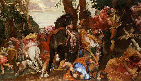 Паоло Веронезе (1528 – 1588). Обращение Савла.