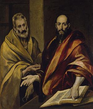 Доменико Эль Греко (1541 – 1614). Апостолы Петр и Павел.